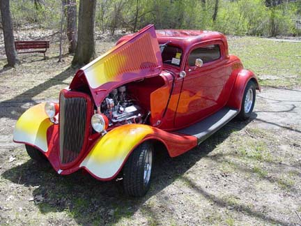 Related Pictures 1933 34 chevy coupe choppin a chevy