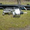 1941 Willys gasser chassis (chrome master booster assembly)