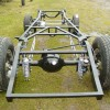 1941 Willys Gasser chassis (Ford 9 inch rear)
