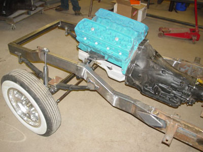 1955 T-Bird Gasser » Fast Times Rods - Hot Rod Cars, 41 Willys ...