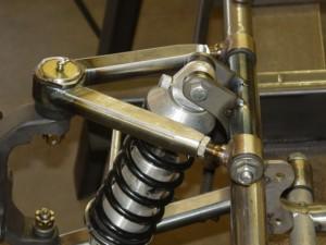 Custom oval tubular control arms