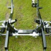 1941 Willys chassis-front suspension