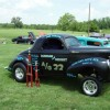 "Gene Catoe's ""Duncan and Nesbit""  gasser at Farmington Dragway"
